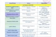 Planning prévisionnel 2018-2019